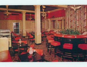 Unused Pre-1980 MIRROR LOUNGE RESTAURANT Providence Rhode Island RI Q5403