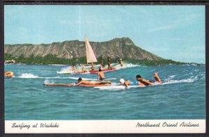 Surfing At Waikiki,HI