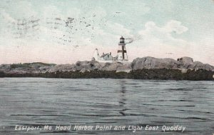 EASTPORT , Maine , 1909 , East Quoddy LIGHTHOUSE