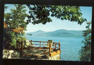 Lake George, New York/NY Postcard, Near Bolton Landing