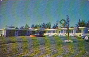 Florida Clearwater Bay Lawn Apartments 1953