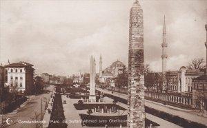 RP: Constantinople. Parc de Sultan Ahmed avec Obelisques , Turkey , 00-10s