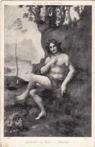 Bacchus Leonardo De Vinci Musee Du Louvre
