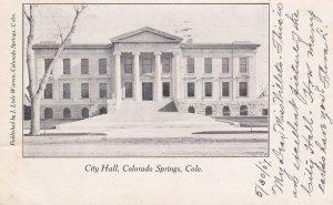 COLORADO SPRINGS, Colorado , PU-1907 ; City Hall