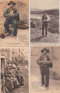 FRENCH FOLKLORE TYPES AUVERGE France 470 Cartes Postales 1900-1940