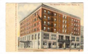The Montrose Hotel, Cedar Rapids, Iowa, PU-1907