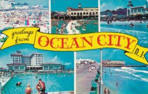 Greetings From Ocean City New Jersey 1962