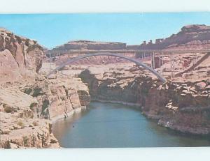 Unused Pre-1980 BRIDGE SCENE Hanksville - Near Fruita & Caineville Utah UT H7556