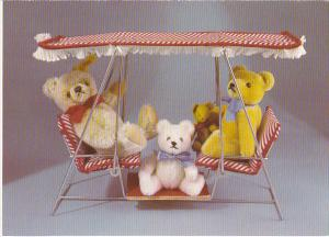 Small Teddy Bears From Steiff and Hermann