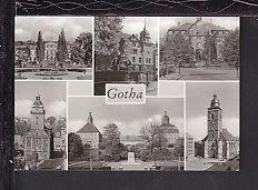 Multi View Gotha,Germany Postcard BIN