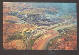 COPPERHILL TENNESSEE COPPER COMPANY MINE MINING AERIAL VIEW VINTAGE POSTCARD