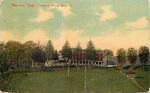 Delaware Water Gap Pennsylvania~Glenwood House~Gazebo Over Path~1919