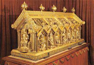 Belgium Tresor de Stavelot Chasse de St Remacle Piece d'orfevrerie l'Art Mosan