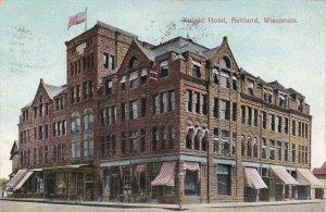 Wisconsin Ashland Knight Hotel 1907 sk4245