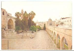 Jerusalem, Via Dolorosa, unused Postcard