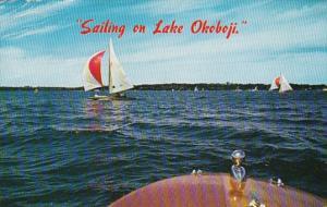 Iowa Sailing On Lake Okoboji 1961