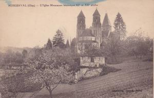 MORIENVAL (Oise) , France , 00-10s ; L'Eglise Monument historique XI et XII s...