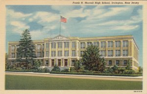 IRVINGTON , New Jersey , 1930-40s ; High School