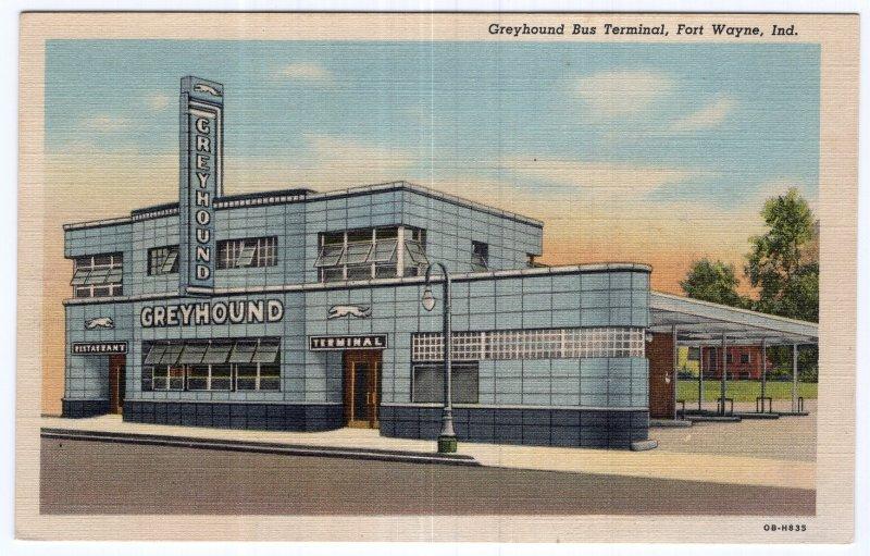 Fort Wayne, Ind. Greyhound Bus Terminal