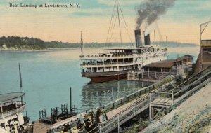 LEWISTOWN , New York , 1912 ; Boat Landing