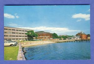 Woods Hole, Massachusetts/Mass/MA Postcard, Oceanographic Institute, Cape Cod