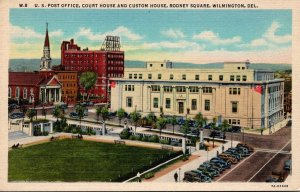 Delaware Wilmington Rodney Square Post Office Court House and Custom House Cu...