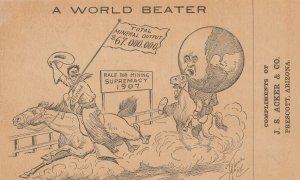 PRESCOTT , Arizona , 1907 ; Race for Mining Supremacy