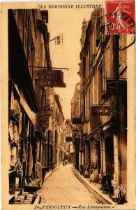 CPA PERIGUEUX (Dep.24) Rue Limogeanne (985316)