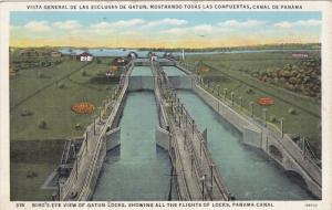 Gatun , Panama Canal , 30-40s
