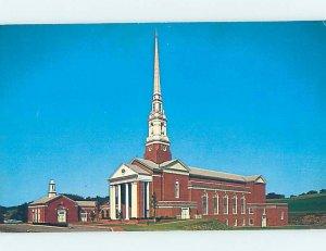 Pre-1980 CHURCH SCENE Upper St. Clair - Near Dormont & Pittsburgh PA AD0371