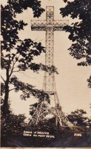 RP: MONTREAL, Quebec, Canada, 1950-196's; Cross Of Shelter, Croix Du Mont Royal