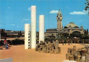 France Limoges La Gare des Benedictine Clock Tower Postcard