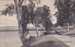 East Shore Road Lake Washington Twin Lakes Connecticut Albertype