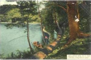 Ramble Along Sylvan Lake , Ballston Spa, New York, 1900-1910s