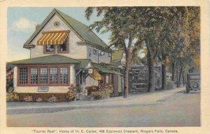 Carter Tourist Rest Home Niagara Falls Ontario Canada postcard