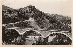 RP: LANGEAC, Haute Loire, France, PU-1951; L'Allier a St. Arcor