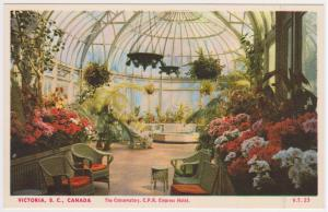 THE CONSERVATORY, EMPRESS HOTEL, VICTORIA BC