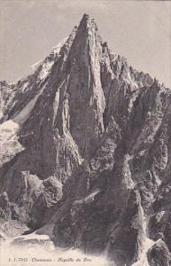 CHAMONIX MONT BLANC, Haute Savoie, France, 1900-1910´s; Aiguille Du Dru