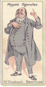 Cigarette Cards Players Characters From Dickens No 50 Mr. Chadband
