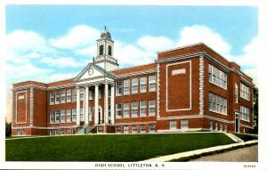 NH - Littleton. Littleton High School