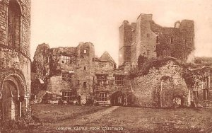 Ludlow Castle from Courtyard United Kingdom, Great Britain, England Unused