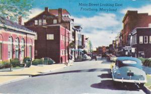 FROSTBURG , Maryland, PU-1958; Main Street
