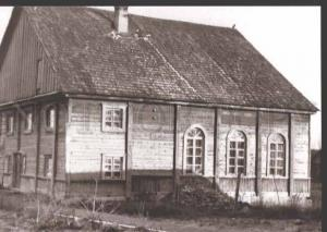 114504 Latvia PREILI New SYNAGOGUE Jewish POSTCARD