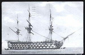UK Postcard HMS Victory