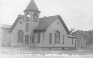 Farmington Minnesota~Presbyterian Church~Neighbors~1932 Real Photo Postcard RPPC