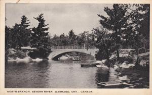 North Branch , Severn River, WASHAGO , Ontario, Canada, 1910-30s