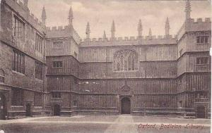 Bodleian Library, Oxford, England, UK, 1910-1920s