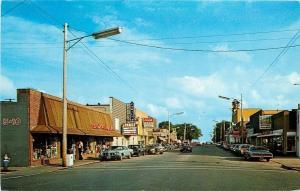 East Tawas Michigan~Ben Franklin 5&10~Family Theater~Martin Senour Paints 1970s