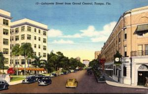 Florida Tampa Lafayette Street From Grand Central Curteich