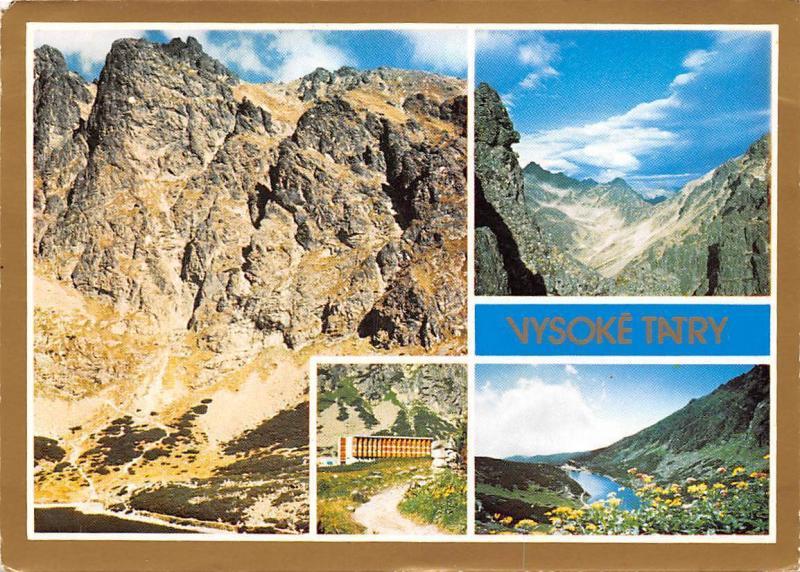 Slovakia Vysoke Tatry - Hohe Tatra - The High Tatras Velicka dolina